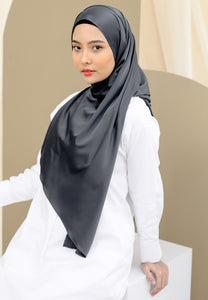 Suri Satin Shawl (Black)