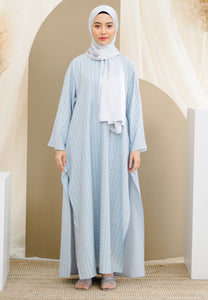 Reena Long Tunic (Pastel Blue)