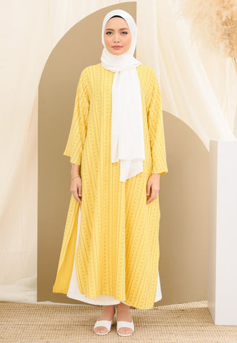 Reena Long Tunic (Yellow)