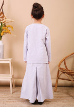 Load image into Gallery viewer, Kenanga Kids Kurong (Greyish Purple)