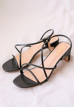 Load image into Gallery viewer, Rania Strap Mules (Black)