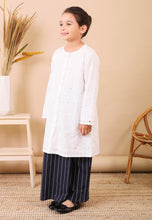 Load image into Gallery viewer, Dahlia Kids Kurong (Dark Blue)