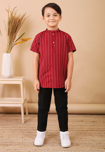 Seroja Kids Boy (Cherry Red)