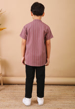 Load image into Gallery viewer, Seroja Kids Boy (Wine Purple)