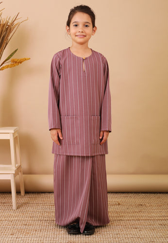 Seroja Kids Kurong (Wine Purple)