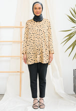 Load image into Gallery viewer, Zaliaa Printed Top (Gold Mustard)
