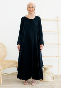 Raeda Plain Tunic (Black)