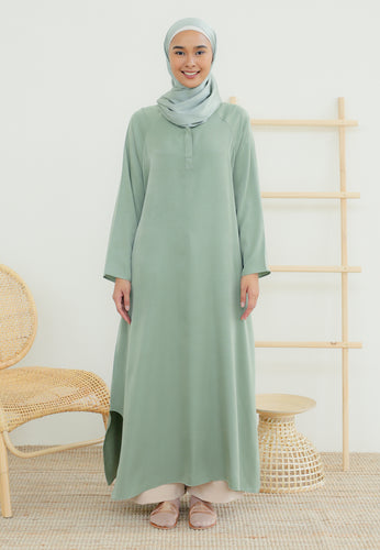 Raeda Plain Tunic (Pastel Green)