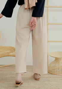 Audra Relax Pants (Nude Brown)
