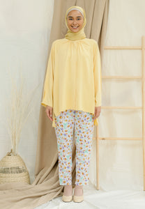 Shurah Baggy Top (Pastel Yellow)