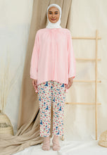 Load image into Gallery viewer, Shurah Baggy Top (Pastel Rose)