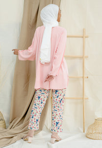 Shurah Baggy Top (Pastel Rose)