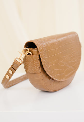Diana Saddle Bag (Sand)