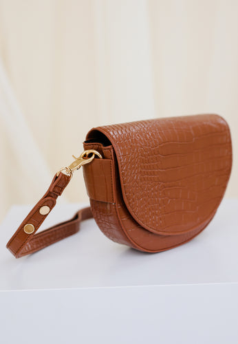 Diana Saddle Bag (Tan)