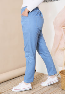 Boyfriends Jeans (Soft Blue)