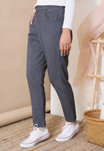 Load image into Gallery viewer, Sawda Tapered Pants (Dark Grey)