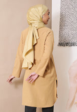 Load image into Gallery viewer, Mahdia Linen Top (Mustard)