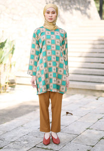 Faryha Slited Top (Green)