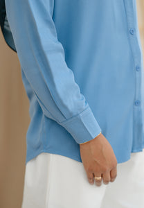 Tahiraa Basic Top (Blue)