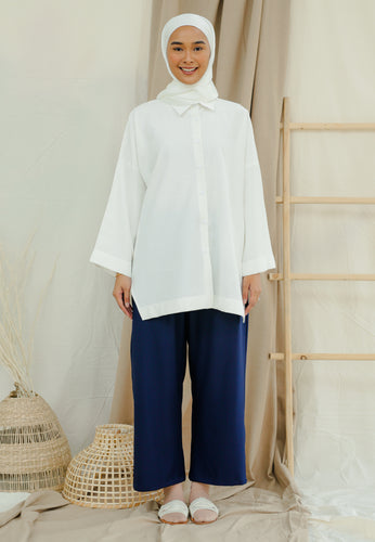 Auliaa Baggy Top (White)