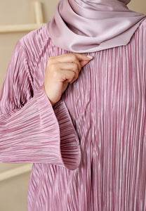 Dalia Pleated Top (Soft Purple)