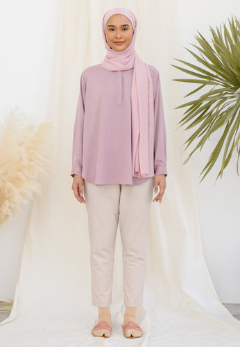 Aleesa Plain Top (Lavender)