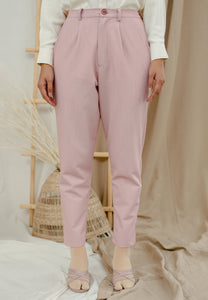 Sawda Tapered Pants (Blush rose)