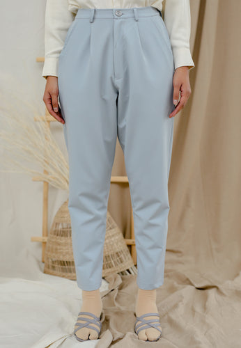 Sawda Tapered Pants (Pastel blue)