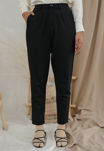 Sawda Tapered Pants (Black)