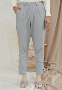 Sawda Tapered Pants (Pastel Grey)