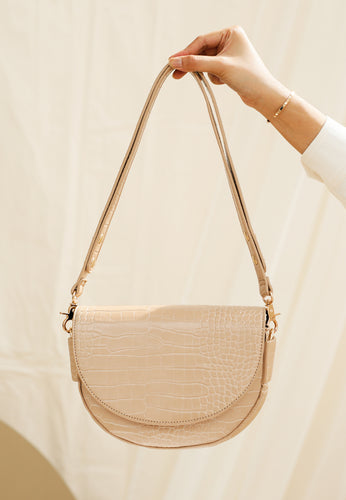 Diana Saddle Bag (Nude)