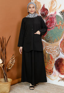 Safeeya Plain (Black)