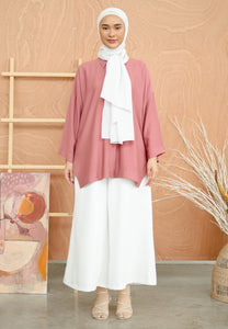 Auliaa Baggy Top (Salmon)