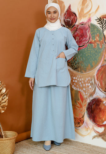Safeeya Flowerdot (Soft Blue)
