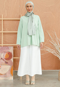 Damiaa Basic Top (Pastel Green)