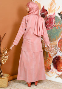Safeeya Stripe (Rose Pink)