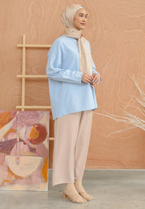 Damiaa Basic Top (Pastel Blue)