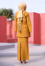 Load image into Gallery viewer, Janna Ruffle Kurong (Mustard)