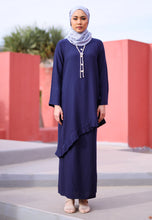 Load image into Gallery viewer, Jasmine Modern Kurong (Oxford Blue)