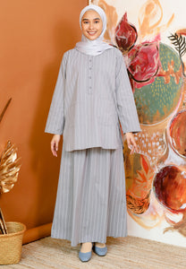 Safeeya Stripe (Grey)