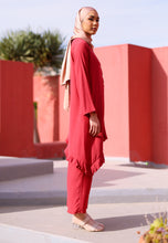 Load image into Gallery viewer, Jasmine Modern Kurong (Brick Red)