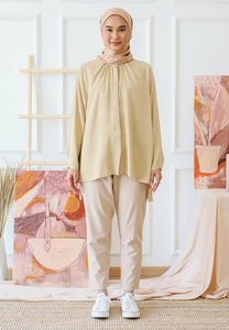 Shurah Baggy Top (Nude Brown)