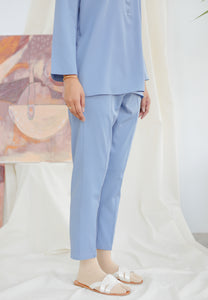Hanaa Casual Tapered Set (Earth Blue)