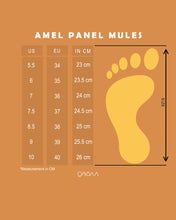 Load image into Gallery viewer, Amel Panel Mules (White)