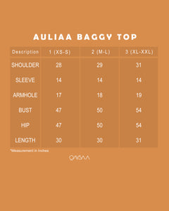 Auliaa Baggy Top (Pearl White)