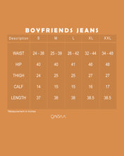 Load image into Gallery viewer, Boyfriends Jeans (Dark Blue)
