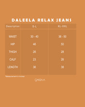 Load image into Gallery viewer, Daleela Relax Jeans (Dark Blue)