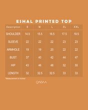 Load image into Gallery viewer, Eshal Printed Top (Soft Brown)