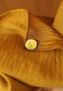 Nisma Satin Shawl (Golden Mustard)