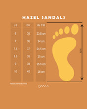 Load image into Gallery viewer, Hazel Sandals (Blue)